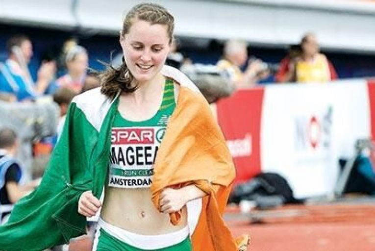 Ciara Mageean took bronze at the European Championships in Amsterdam last week