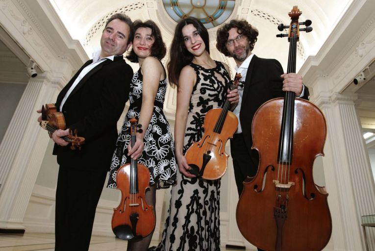 The ConTempo Quartet will perform Haydn's Seven Last Words to be streamed online. Photo: Mark Stedman