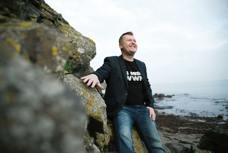 Colm Williamson, founder of satirical website Waterford Whispers: 'The piece speaks for itself' Patrick Browne