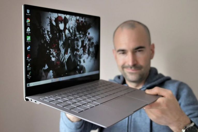 Aesthetically, the Galaxy Book S is bland and indistinguishable from dozens of other laptops on the market. After that, though, everything changes.