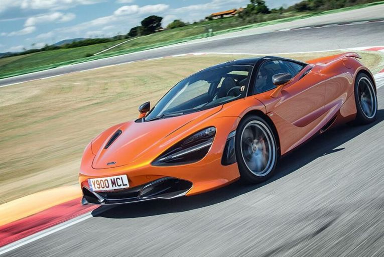 McLaren's 720S  offers more power  and less weight