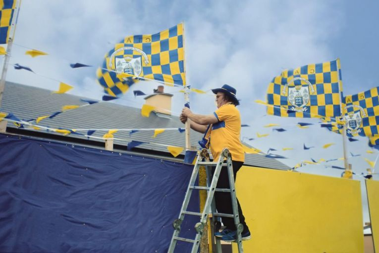 Littlewoods plays senior hurling with championship ad campaign