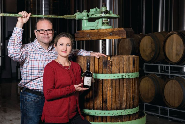 Daniel and Géraldine Emerson of Stonewell Cider have quietly built up a solid business with national and international distribution without ever compromising on product quality. Picture: Jorg Koster
