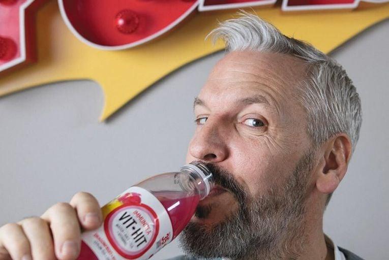 Gary Lavin, the founder of Irish drinks company VitHit  Pic: Fergal Phillips
