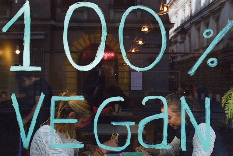 Cashing in on vegan values