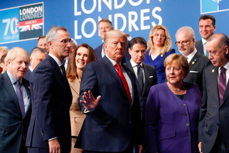 Loose talk won't sink Nato - at least for now