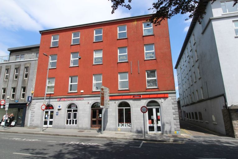 Hardiman House in Galway city  extends to some 1,068 square metres of own-door self-contained office space over four floors.