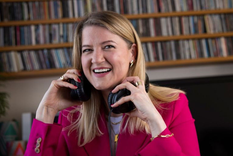 Jenny Huston, the founder and creative director of  jewellery brand EdgeOnly, has just begun a new job as a daytime broadcaster with U2 X-Radio. Picture: Fergal Phillips
