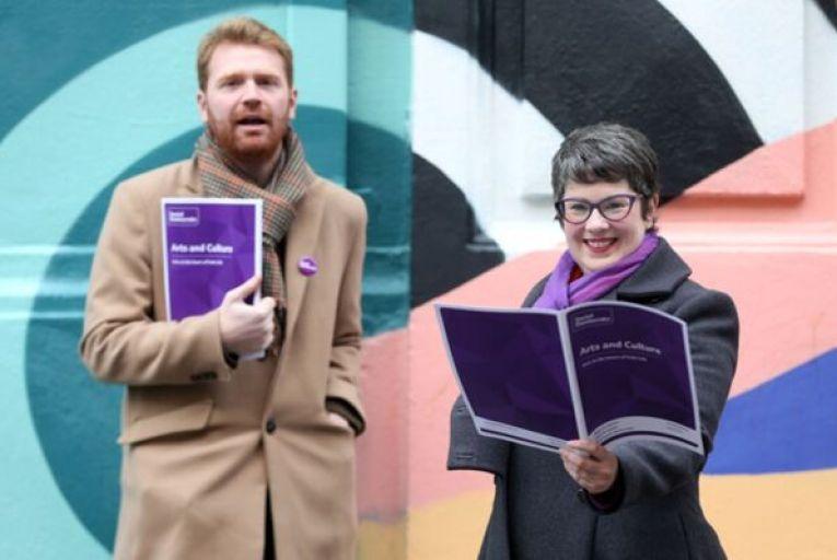 Set mandatory targets for arts spending, say Social Democrats