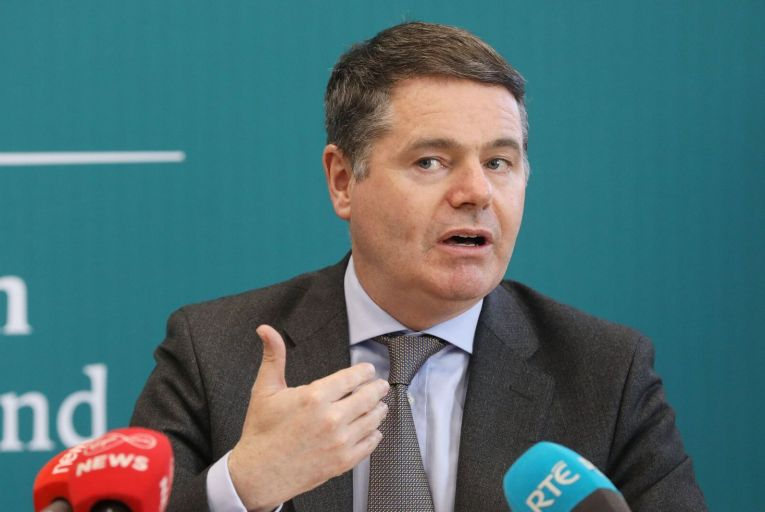 Paschal Donohoe, the Minister for Finance, secured cabinet approval for tougher penalties for individual executives in the financial sector last week