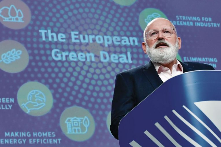 Five Degrees of Change: High-flying Dutchman powers the EU's Green Deal from his attic