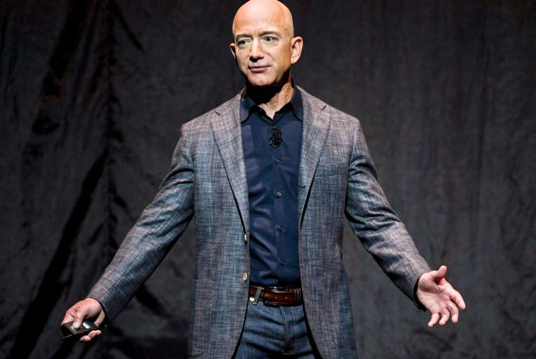 Jeff Bezos, the founder of Amazon, is to step down as chief executive, meaning he leaves the leadership role on a high while avoiding some of the controversies the company has had to deal with. Photo: Getty