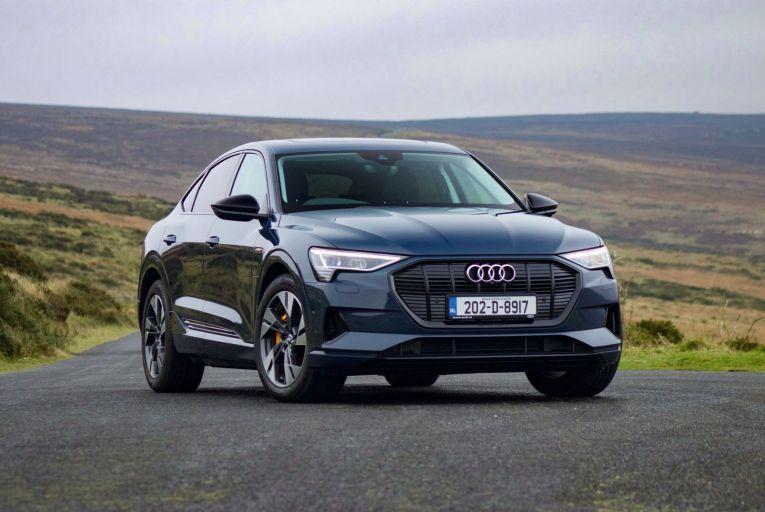 The Audi e-tron Sportback starts at €75,195