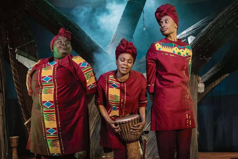 Theatre: African and Caribbean influences weave a compelling web for kids
