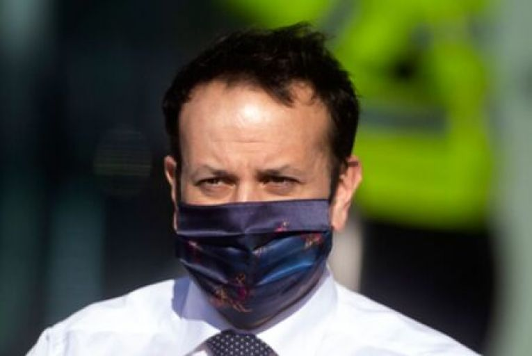 Leo Varadkar told the opposition he could not offer any certainty on dates but said the plan was for a phased re-opening of schools. Picture: Getty