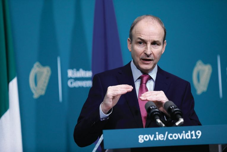 Taoiseach Micheál Martin: little change in Fianna Fáil's slump in the polls Picture: Julien Behal
