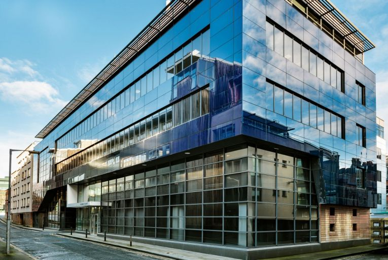 Modern freehold office block in central Dublin guiding at €18m