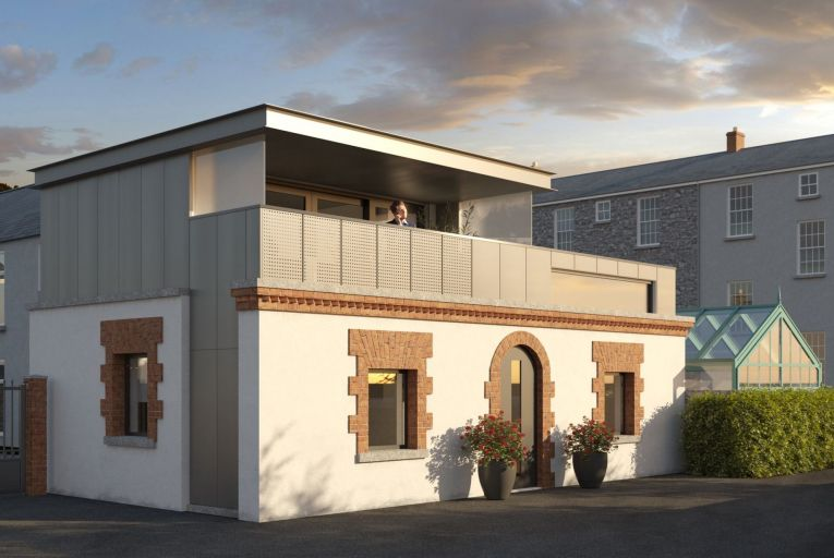 Opportunity to build your own mews house in Ranelagh