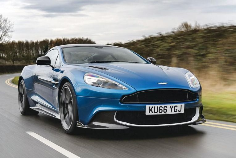 The new Astom Martin Vanquish S – enjoy the lack of the sort of technological distraction you'll get from its bigger volume rivals