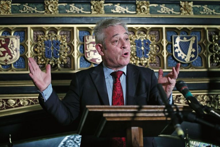 Unspeakable: Bercow falls into trap of believing his own hype