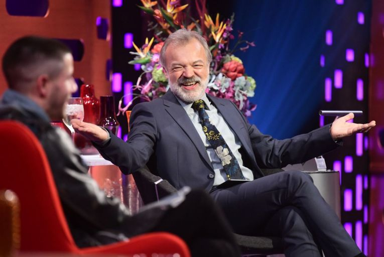 'Graham Norton inevitably locates a topic that unites his guests . . . 'when stuck, think of what unites you and move the conversation onwards.' Picture: PA