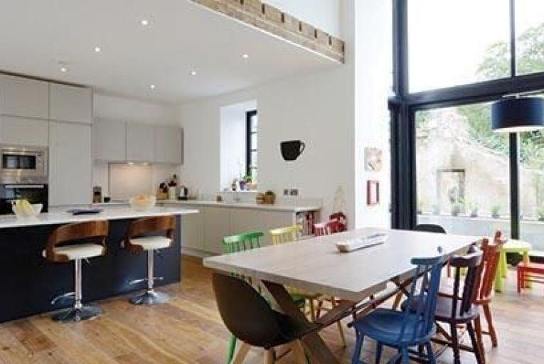 A double-height open-plan kitchen/dining room in ClaneMarcin Bialek