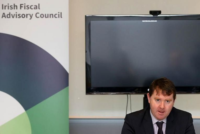 IFAC chairperson Seamus Coffey. Pic: Rollingnews.ie