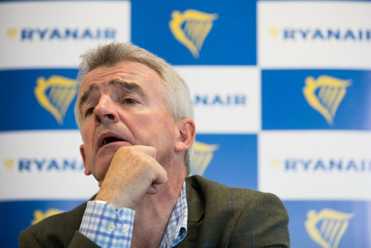 Michael O'Leary: wants the government to adopt the European Commission's new guidelines for travel rather than following Nphet's advice. Picture: Bloomberg