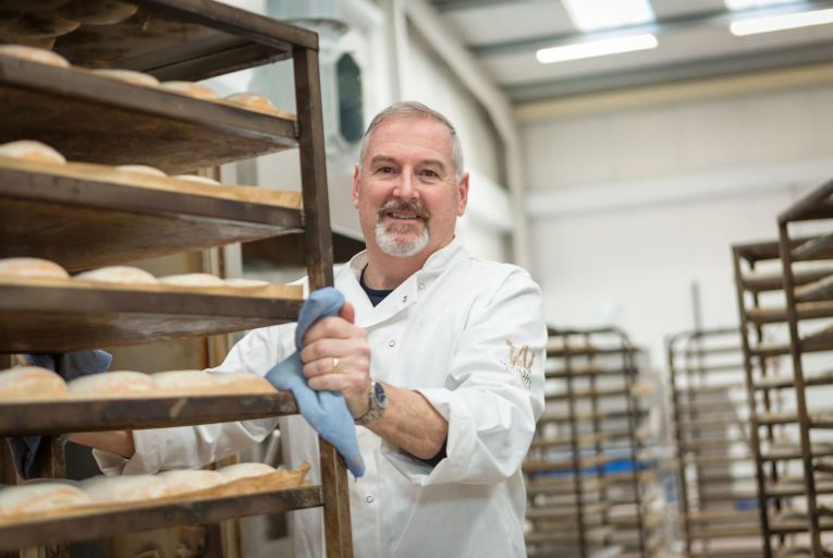 Dermot Walsh of the family-run Walsh's Bakehouse in Waterford