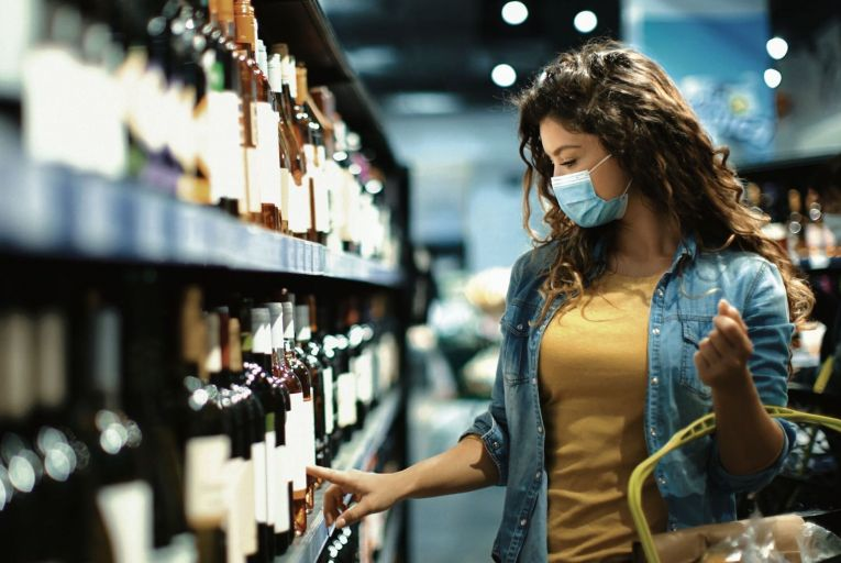 An estimated 60 to 80 per cent of wine purchases are based solely on the label. Picture: Getty Images