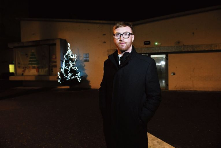 John Ross Reilly, 32, one of the Belvedere Youth Club's many success stories Picture: Bryan Meade