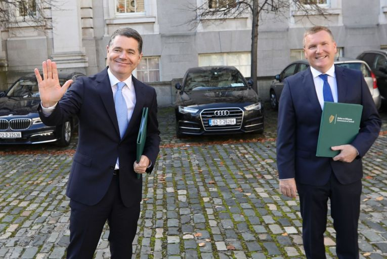 Paschal Donohoe, the Minister for Finance, and Michael McGrath, the Minister for Public Expenditure, will stick to a budget package of around €4.7 billion