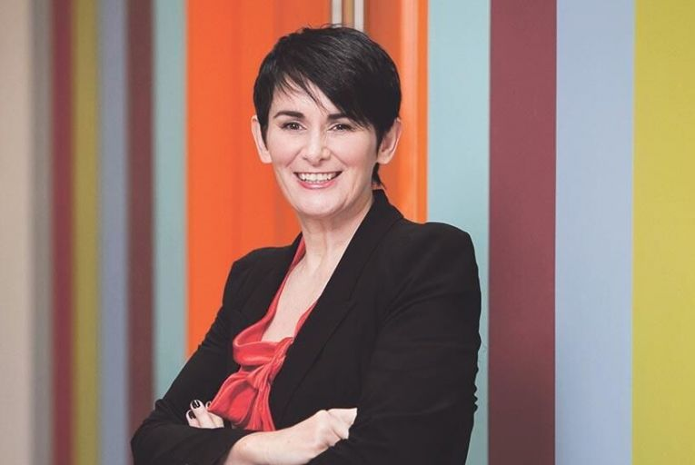 Carolan Lennon, managing director of Open Eir, who also leads Eirs corporate social responsibility programme
