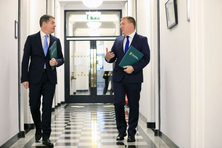Paschal Donohoe and Michael McGrath were able to plan the Budget on the back of a buoyant corporate tax take
