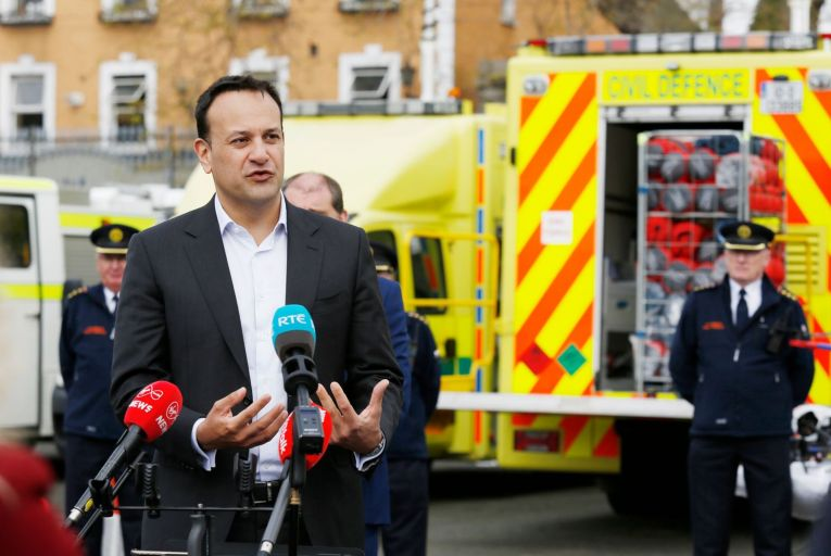 Varadkar picks up phone in plea to firms for Covid-19 supplies