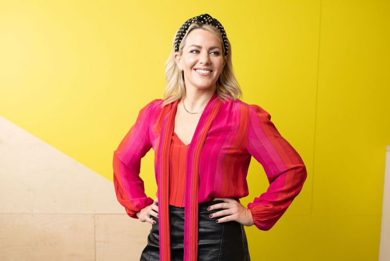 """Zoe Desmond, founder and chief executive of Frolo.co.uk: """"I wanted to find a way of connecting with single parents in my area."""" Picture: Anna Gordon"""