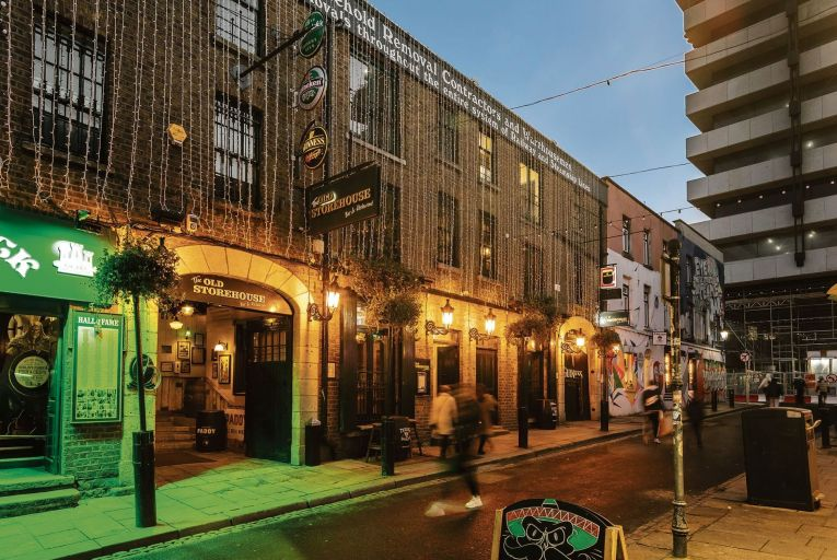 The Old Storehouse in Temple Bar in Dublin was sold for €16 million