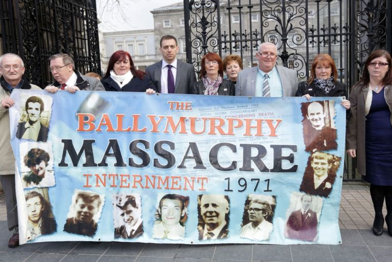 \'The Ballymurphy families had their loved ones shot on the street and called out as terrorists. To be forced to fight for their good names and their innocence, against an embittered and emboldened establishment, was traumatic.\' Photo: Laura Hutton/RollingNews.ie