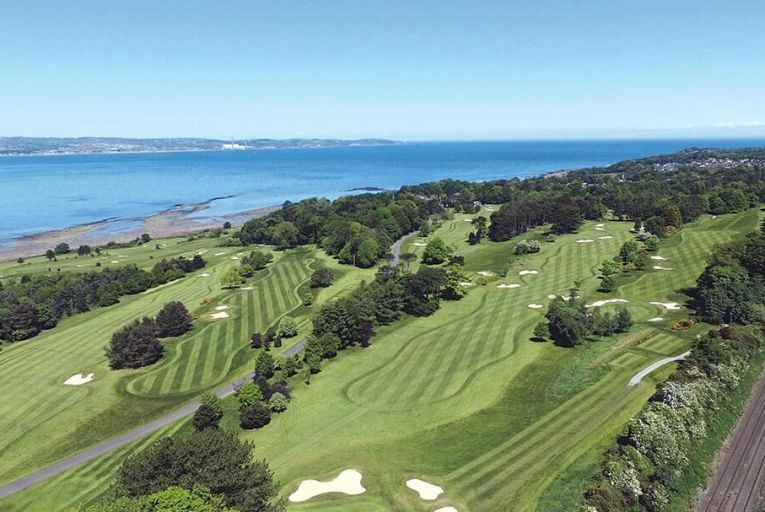 Royal Belfast Golf Club, where every hole is memorable, especially on the back nine which hugs the shore of Belfast Lough. With a stately clubhouse, it boasts of being the oldest golf club in Ireland