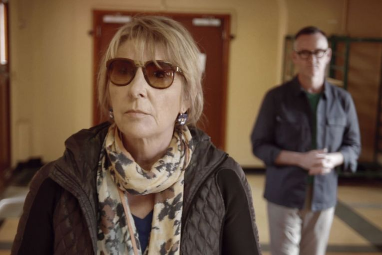 Áine Lawlor and Brendan Courtney on Keys to My Life on RTÉ One: an engaging programme in which Courtney was in his element with the forthright Lawlor