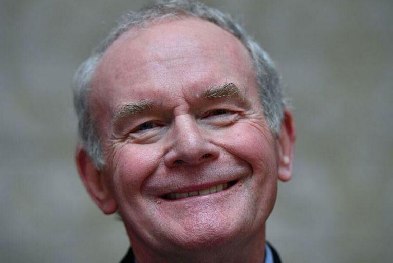 Sinn Féin's Martin McGuinness dies after short illness