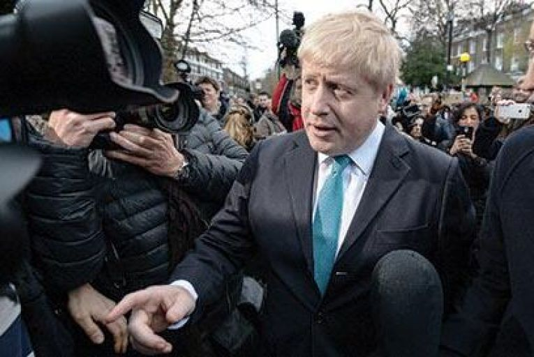 British Prime Minister Boris Johnson has used the slogan to outline his hopes for a post-Brexit Britain as an outward-facing trading nation