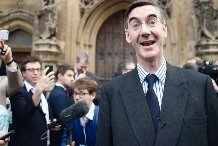 Jacob  Rees-Mogg was elevated to chair of the ERG a year ago, propelling the group to the centre of the bitter Brexit debate Pic: PA