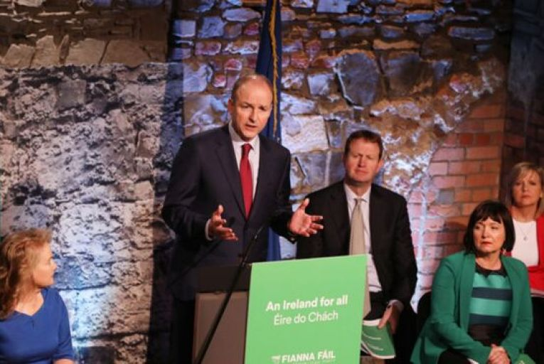 Martin plays up prudence at Fianna Fáil manifesto launch