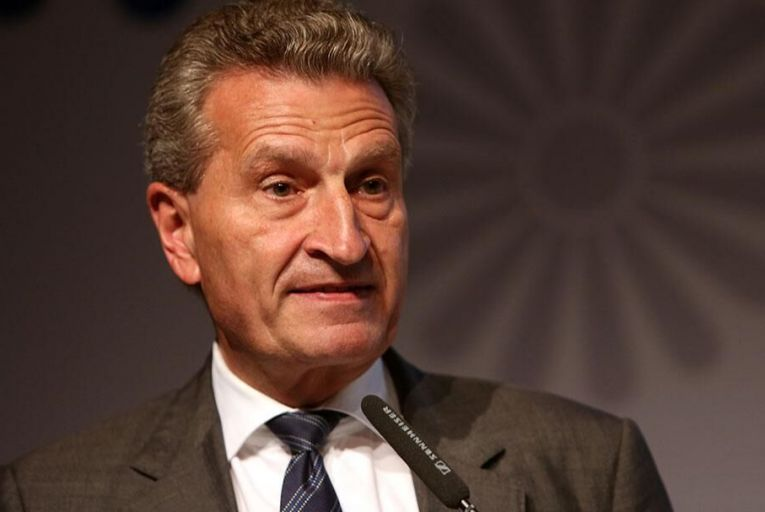 EU Budget Commissioner Günther Oettinger Pic: Getty