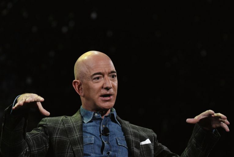 Jeff Bezos, the founder of Amazon, is worth nearly $200 billion and is the world's second-richest person, behind the electric car tycoon Elon Musk. Photo: Getty