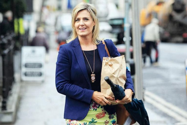 Maria Bailey: dropped case  after disastrous radio interview  Picture: Collins