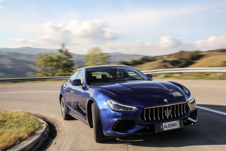 Maserati has paired a 2.0-litre turbocharged four- cylinder petrol engine with electric assistance, but this car is neither a plug-in hybrid electric vehicle nor even a hybrid that can drive on electric power for short distances at lower speeds