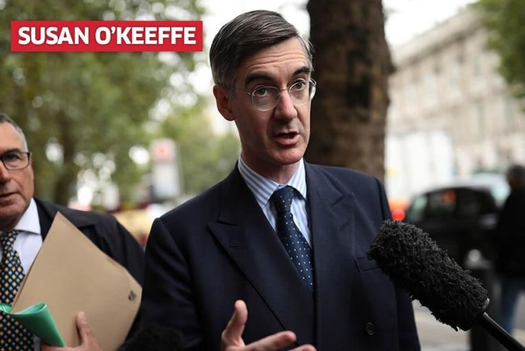 Jacob Rees-Mogg\'s early kick-off to  conference season. Pic: Getty