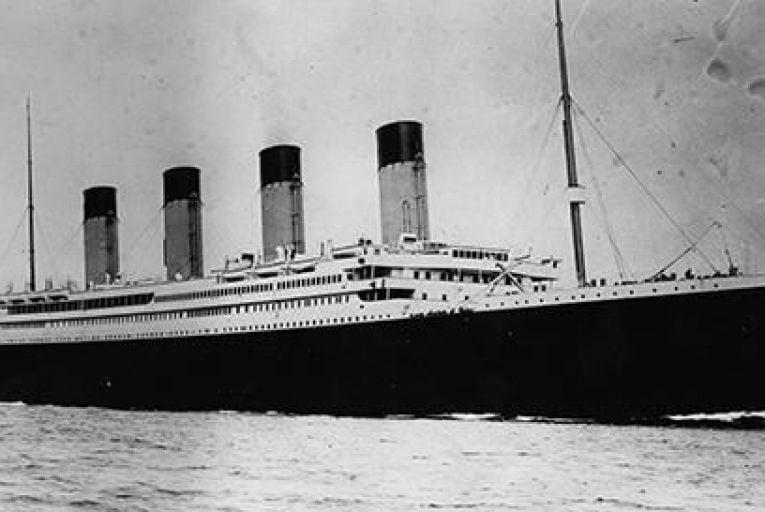 Doomed...Titanic Pic: Getty